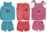 Jack & Ginni New Born Baby Clothes (Blue, Pink, Purple)