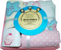 Abracadabra Baby Bath Essentials - Girls (White, Pink)