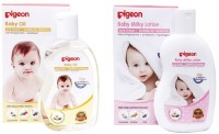Pigeon Baby Milky Lotion And Oil (Transparent)