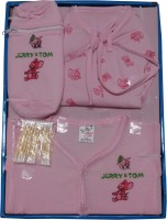 Jerry & Tom 5 Pcs Baby Combo Gift Set (Pink)