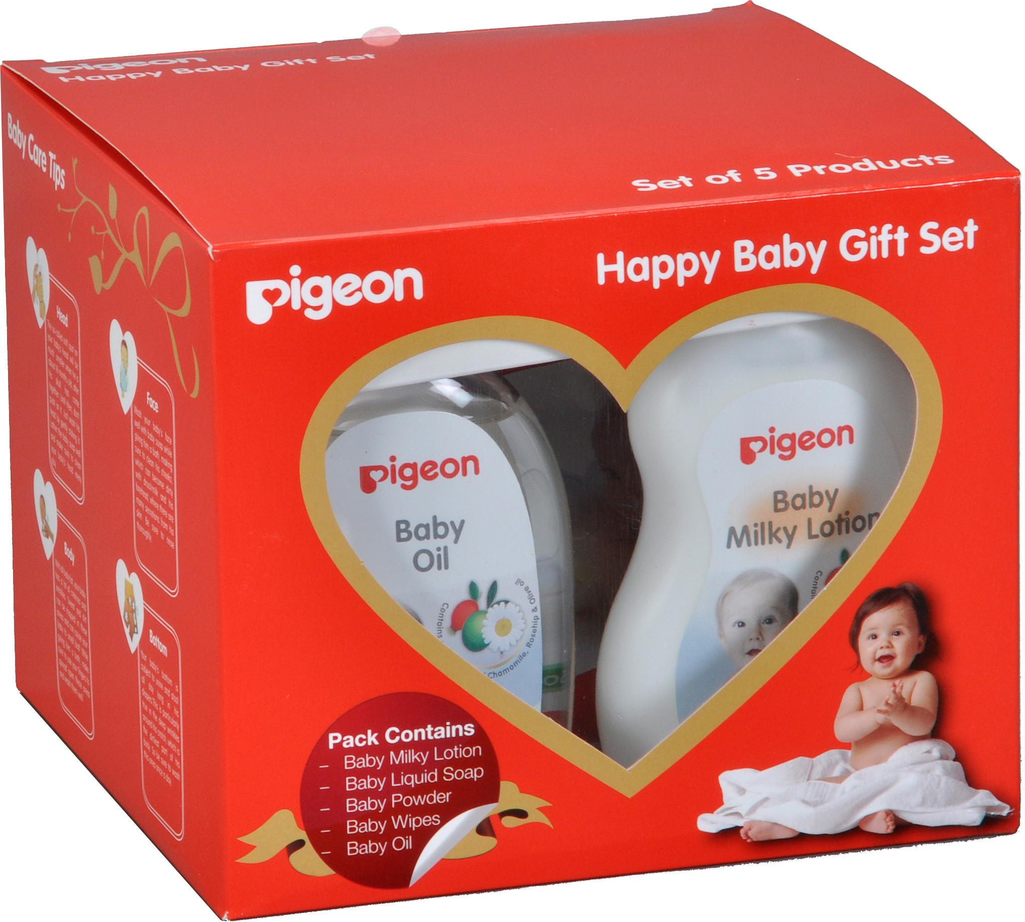 Baby Gift Set Flipkart : Pigeon happy baby gift set buy care combo in