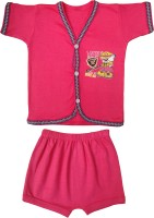 Jack & Ginni New Born Baby Clothes (Red)