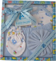 Advance Baby 4 Pieces Gift Set (Blue)