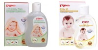 Pigeon Baby Wash_Oil (Transparent)