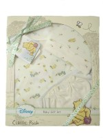 Disney Baby Gift Set- 4pc (Yellow)
