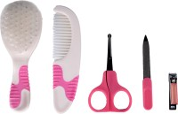 Beebop Grooming Set Inclusive Of Brush, Comb & Manicure Kit (Multicolor)