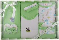 Mini Berry New Born 10 Pc Gift Set (Green)