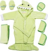 Belle Maison Baby Bath Robe Set (6Pcs.) 12-18 Month (Green)