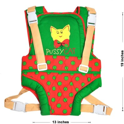Hawai Attractive Pussy Baby Carrier (Green, Red)