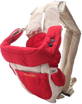 Koochi koo Baby Kangaroo Bag 3 Way Red Beige Baby Carrier (Red, Beige)