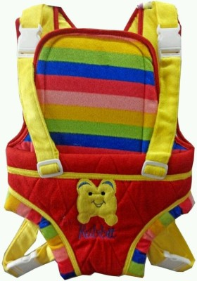 CHINMAY KIDS VELVET STRONG BELT BAG Baby Carrier (Multicolor)