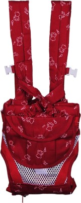 Chuan Que Teddy Print Baby Carrier (Red)