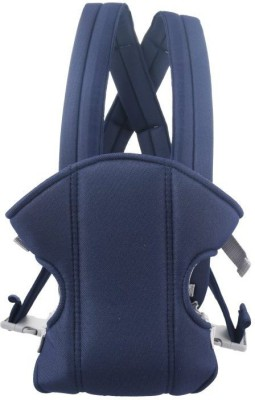 Venus New Soft Cotton Adjustable With Multi Carry Positions Front & Back Baby Carrier (Blue)