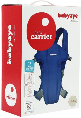 Babyoye Carrier Basic Baby Carrier (Blue)