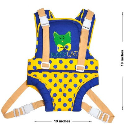 Hawai PrettyPussy Baby Carrier (Blue, Yellow)