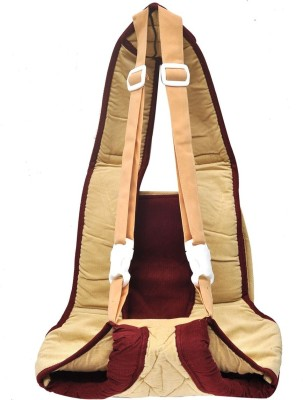 Hawai Soft & Strong Baby Carrier (Beige, Maroon)