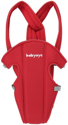 Babyoye Baby Carrier Basic, Red Baby Carrier (Red)