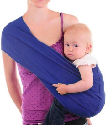 Nahshon Baby Side Carry Sling Baby Carrier Blue Kenyt