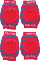 Mee Mee Protective Red Baby Knee Pads (Apple)