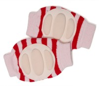 Baby Bucket Baby Bucket Soft Cotton Baby Knee Pad Red Baby Knee Pads (Self Design)