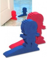Farlin Baby Safety Door Stopper Set-2pcs (Blue+Pink)