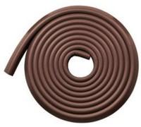 Kuhu Creations Strip Corner Guard (Wooden Brown, Chocolate)