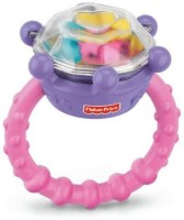 Fisher-Price Brilliant Basics Diamond Ring Rattle (Discontinued By Manufacturer) Rattle (Multicolor)