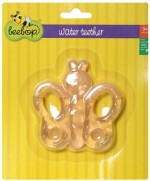 Beebop Baby Rattles Beebop Butterfly Water Filled Teether Rattle