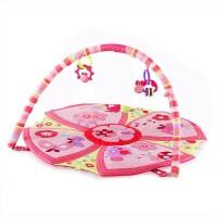 Smart Picks Baby Toy Soft Mat Rattle (Pink)
