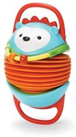 Skip Hop Explore And More Accordion Toy, Hedgehog Rattle (Multicolor)