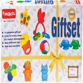 Funskool Gift Set Premium Refresh Rattle - Multicolor