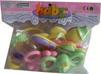 AYAANGLOBALMART RATTLE SET FOR KIDS ( SET OF 6 ) Rattle (Multicolor)