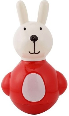 Funworld Bunny Roly Poly Rattle (Red)