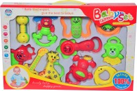 Just Toyz Premium Gift Set For Babies Rattle (Multicolor)
