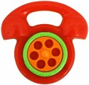 Ollington St. Collection Baby - Phone Rattle - Red