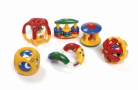 Tolo Baby Awareness Set Rattle (Multicolor)
