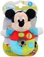 Disney Rattles Mickey Ring Rattle Rattle: Baby Rattle