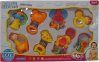 Starmark Baby's Starts Rattle (Multicolor)