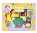 MeeMee Rattles Gift Set - 5pcs (Ball) Rattle - Multicolor