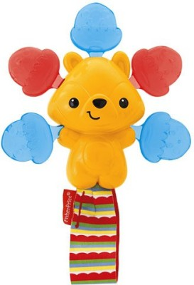 Fisher Price Woodland Friends Click Clack Rattle (Multicolor)