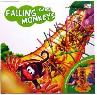 Baybeeshoppee Falling Game Monkeys Rattle (Multicolor)
