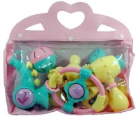 New Pinch Baby Rattles In A Bag (6 Pieces) Rattle (Multicolor)
