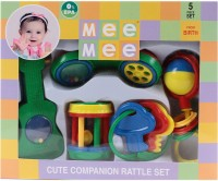 MeeMee Rattles Gift Set - 5pcs Rattle (Multicolor)