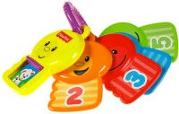 Fisher-Price Count and Explore Keys Rattle: Baby Rattle