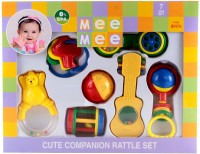 MeeMee Companion Infant Rattle Set MM-701 Rattle (Multicolor)