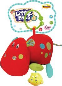 Winfun Little Pals Hippo Musical Vibrator Rattle