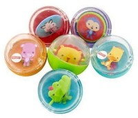 Fisher Price Silly Safari Animal Rounds Rattle (Multicolor)