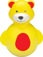 Funworld Teddy Roly Poly Rattle (Yellow)