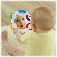 Fisher-Price Tap 'N Play Tambourine Rattle (Multicolor)
