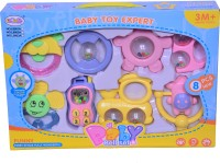 Just Toyz Refresh Set For Infants Rattle (Multicolor)